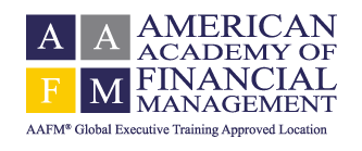 BS Grupo es Provider of Qualified Certification Education del American Academy of Financial Management - AAFM
